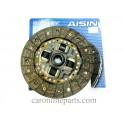 """จานคลัช T/T EE100, AE100-111, ALTIS  No.DT-124V  8.5"""" (212-140-20-24.6) AISIN"""