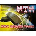 ผ้าดิสเบรคหน้า N/S B14 No.NN-431 NTN