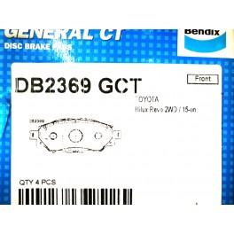 ผ้าดิสเบรคหน้า T/T REVO'2015 No.DB2369-GCT Bendix