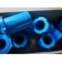 ยางหูแหนบหลัง-ตัวยาว N/S NAVARA ยูรีเทรน สีน้ำเงิน Ref.55046-EB70C