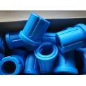ยางหูแหนบหลัง-ตัวล่าง T/T REVO ยูรีเทรน สีน้ำเงิน Ref.90385-T0017