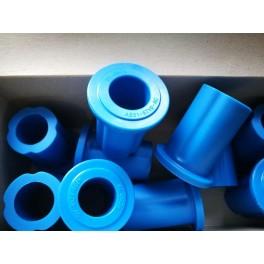ยางหูแหนบ-ตัวยาว FORD T6 BT50 Pro ยูรีเทรน สีน้ำเงิน Ref.AB31-5719AC