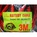 สายพ่วงแบตเตอรี่อย่างดี 3 เมตร 25 SQ. (jumper cables)