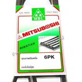 สายพาน 6PK1955 (สายพานหน้าเครื่อง 1JZ, 2JZ) MITSUBOSHI