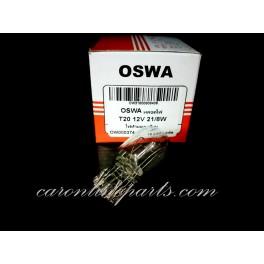 หลอดไฟ T20 2ไส้ 21/8W 12V No.OW00374 OSWA