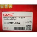 ปั๊มน้ำ ALTIS 1.6-1.8 ปี 03-10 No.GWT-98A GMS