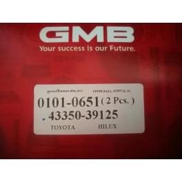 ลูกหมากปีกนก-บน TIGER 2WD No.0101-0651, 43350-39125 GMB   (Ball Joint)