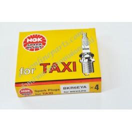 หัวเทียน NGK  สำหรับ NGV/LPG TAXI  No.BKR6EYA (Spark Plug)