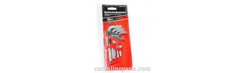 ประแจแอล (Hex Key Wrench Set)