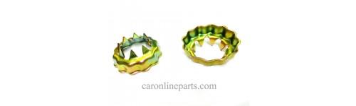 แหวนรองเพลาหน้าฝาเบียร์ / แหวนจักร  (Tooth Lock Washer)